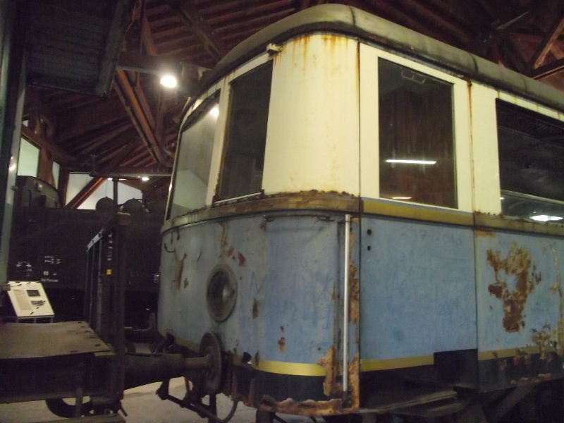 Diesel-Triebwagen VT 07 Beis_323