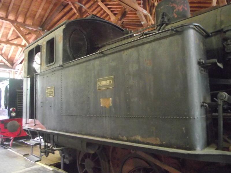 """Dampflokomotive LLK """"SCHWARZECK"""" Beis_346"""