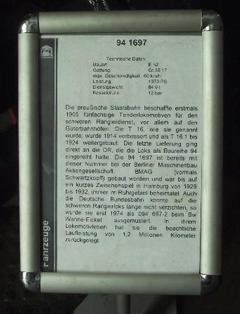 Baureihe 94 1697 Bild110