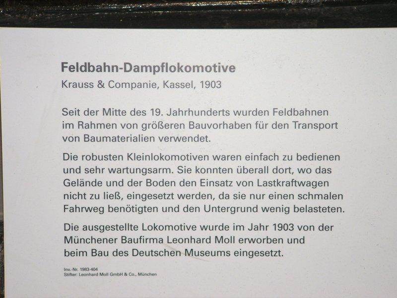 Feldbahn-Dampfloks Dscf0227