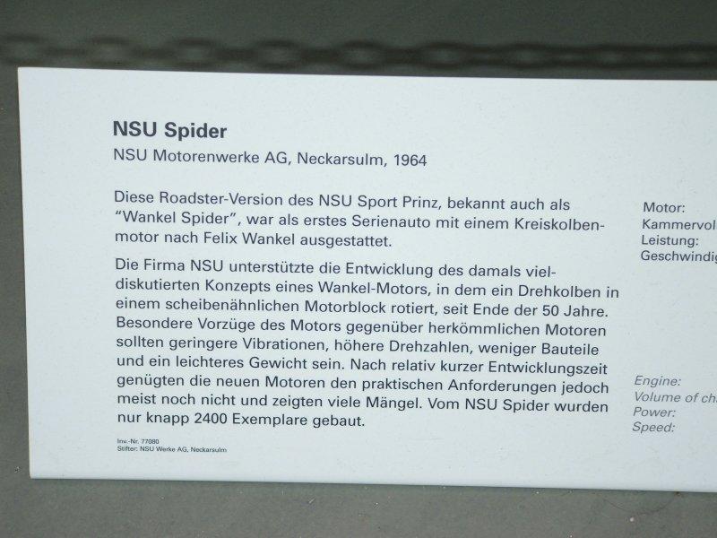 NSU Spider Dscf0240