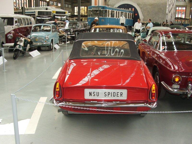 NSU Spider Dscf0245