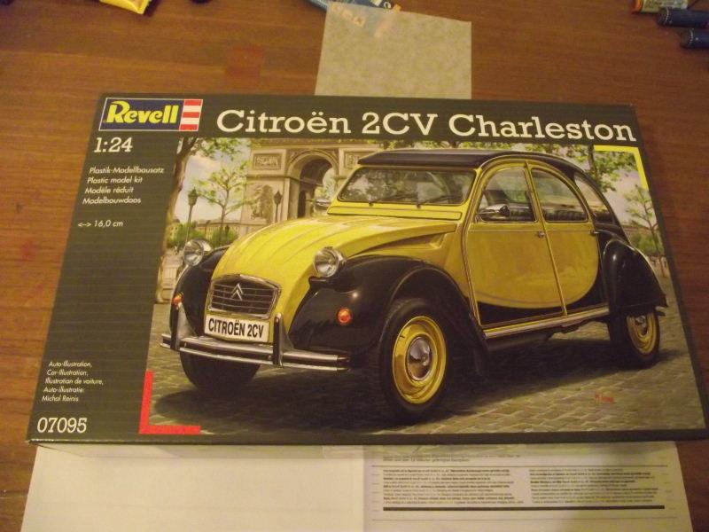 Revell 1:24 Citroen Charleston Ente_021