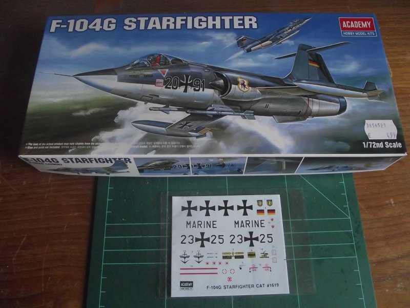 ACADEMY 1.72 F-104G Starfighter F104_010