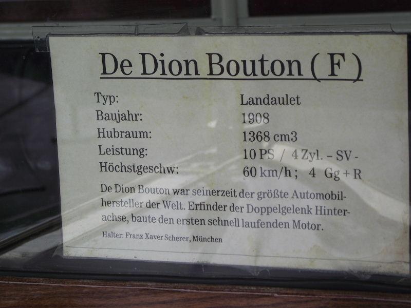 De Dion Bouton Frankreich Flyin110