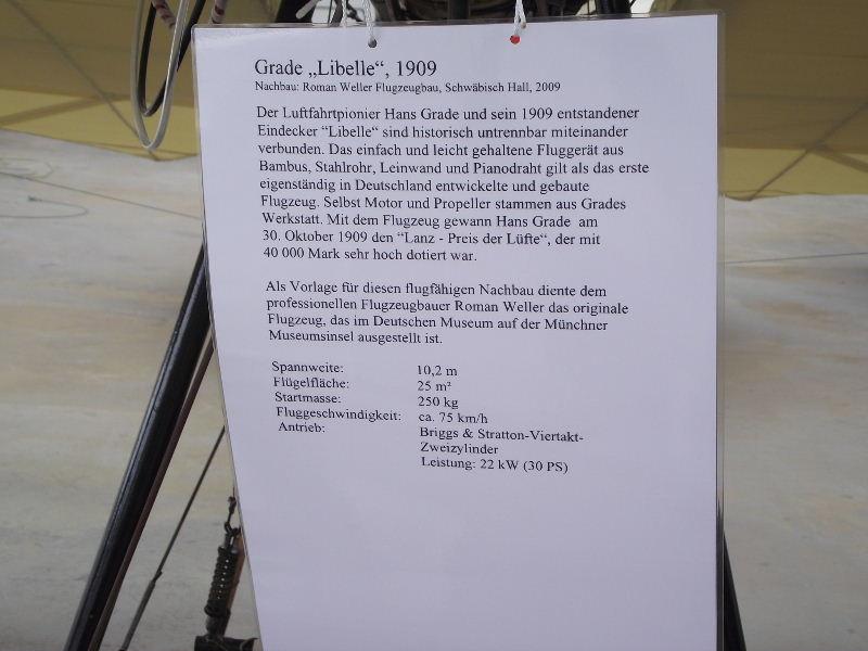 "Grade ""Libelle"" 1909 Flyin395"