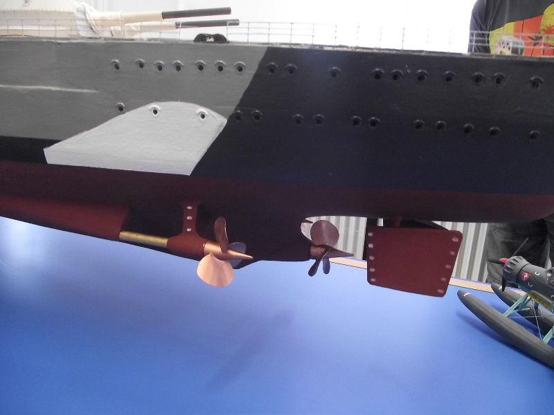 Bismarck 1:100 Karton. Fw120115