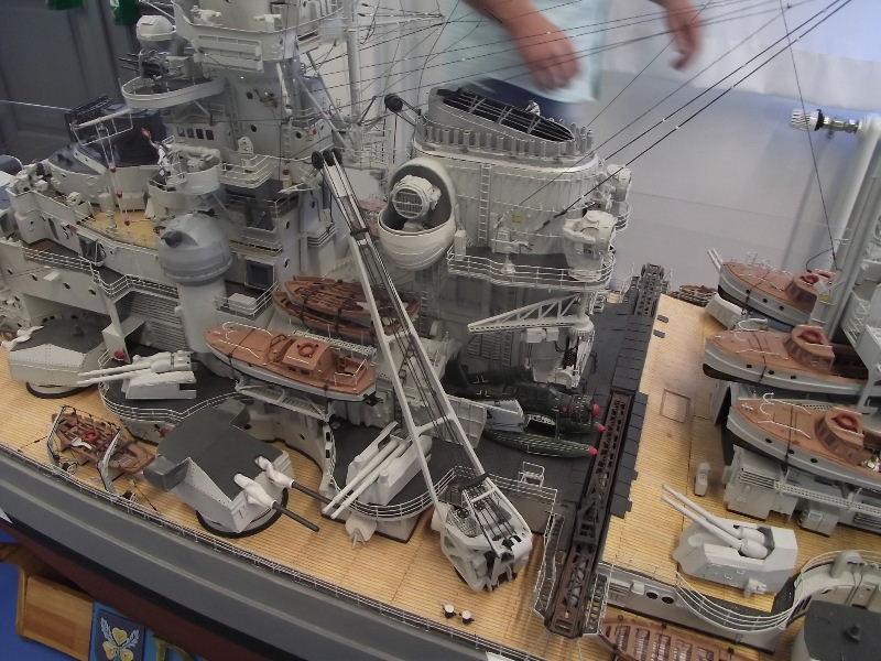 Bismarck 1:100 Karton. Fw120130