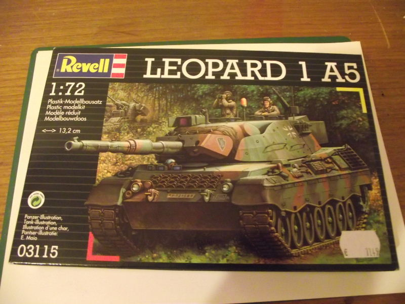 LEOPARD 1 A5 Revell 1:72 Leo_0010