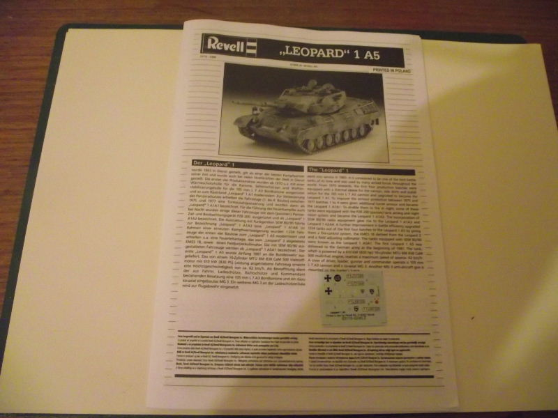 LEOPARD 1 A5 Revell 1:72 Leo_0011