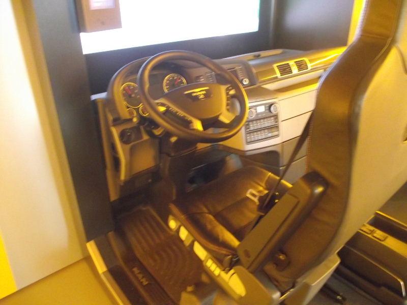 MAN Führerhaus Innenansicht Man01113