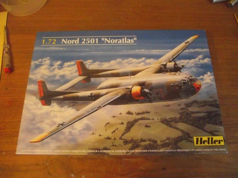 "Heller 1/72 Nord 2501 ""Noratlas"" Noratl10"