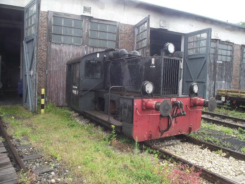 Kleindiesellok Köf II - DB-Baureihe 322-324 - DR BR 100 / 310 Nord_140