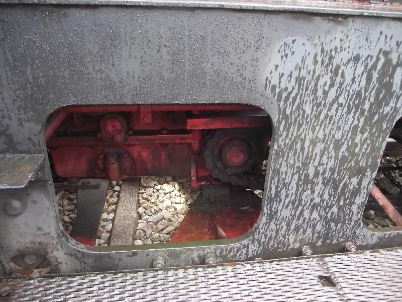 Kleindiesellok Köf II - DB-Baureihe 322-324 - DR BR 100 / 310 Nord_142