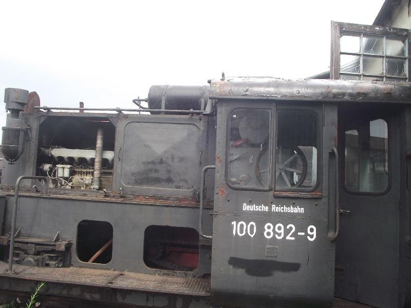 Kleindiesellok Köf II - DB-Baureihe 322-324 - DR BR 100 / 310 Nord_146