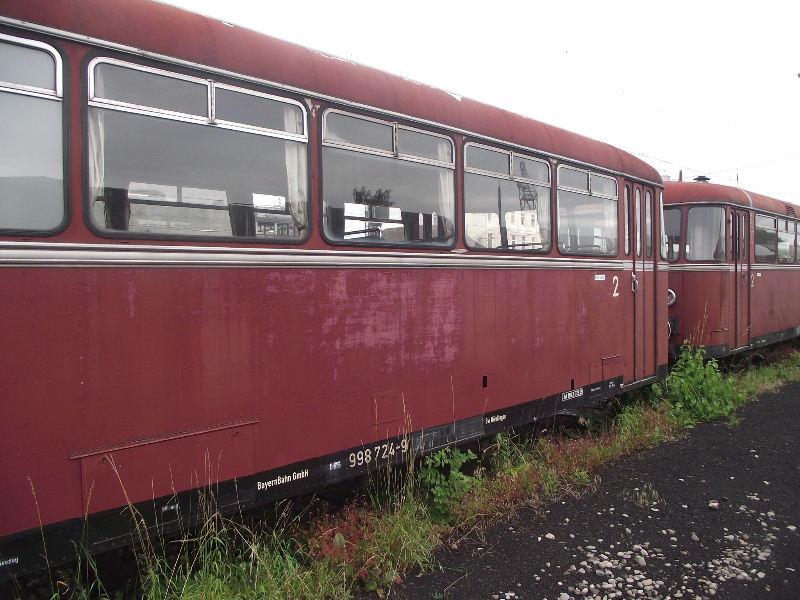 Der SCHIENENbus - Baureihe 798/998 der DB Nord_487