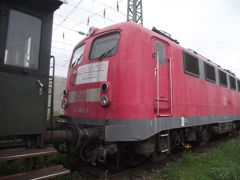 Die E-Lok Baureihe 141 / E41 der DB, der Knallfrosch Nord_492