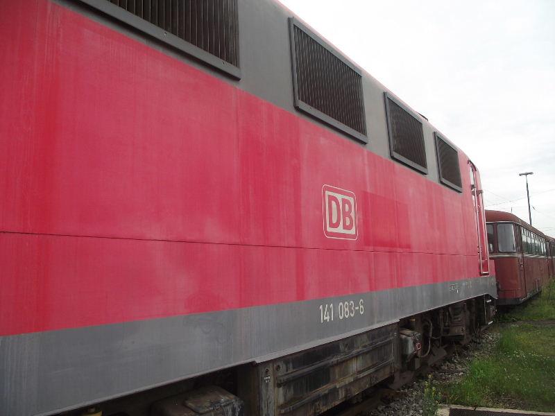 Die E-Lok Baureihe 141 / E41 der DB, der Knallfrosch Nord_497