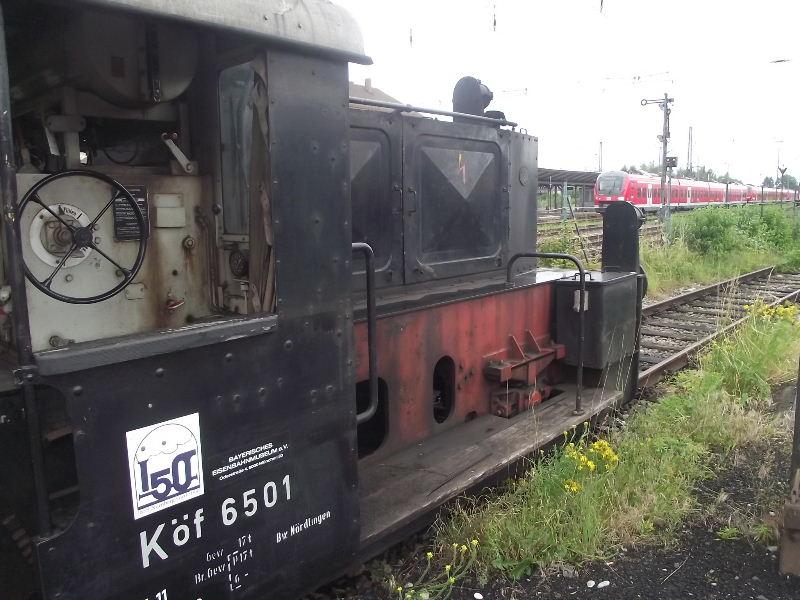 Kleindiesellok Köf II - DB-Baureihe 322-324 - DR BR 100 / 310 Nord_514