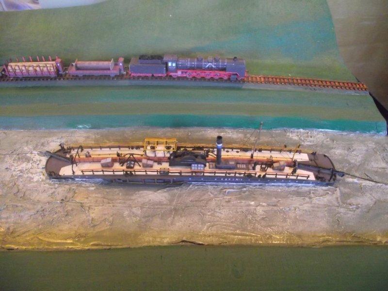 """Diorama """"Main-Kettenschlepper"""" von MB-Modellbau, 1:250 - Seite 4 Stisch21"""