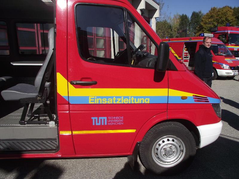 Feuerwehr TU München Tum_0911
