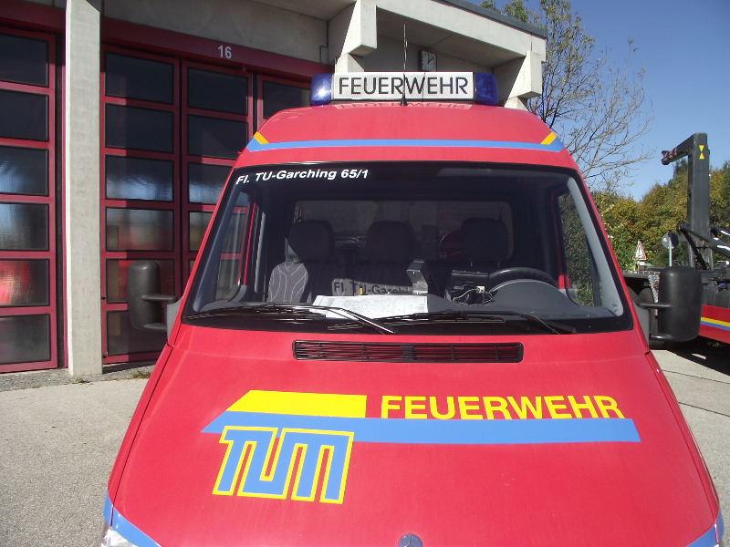 Feuerwehr TU München Tum_0915