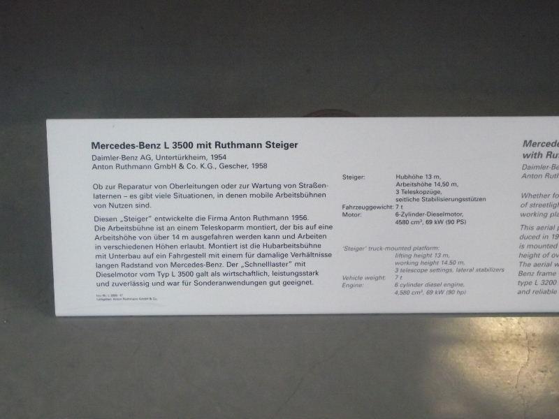 Mercedes-Benz L3500 mit Ruthmann Steiger Vzent134