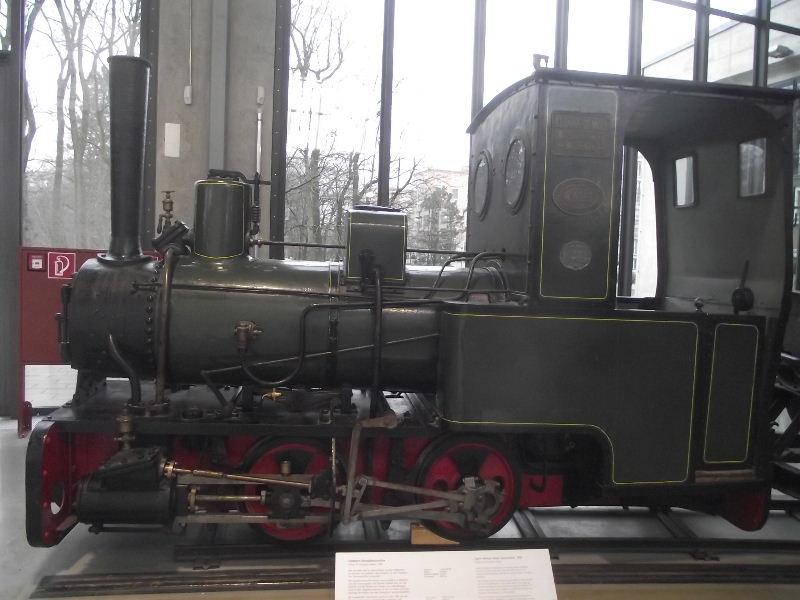 Feldbahn-Dampflokomotive Vzent155