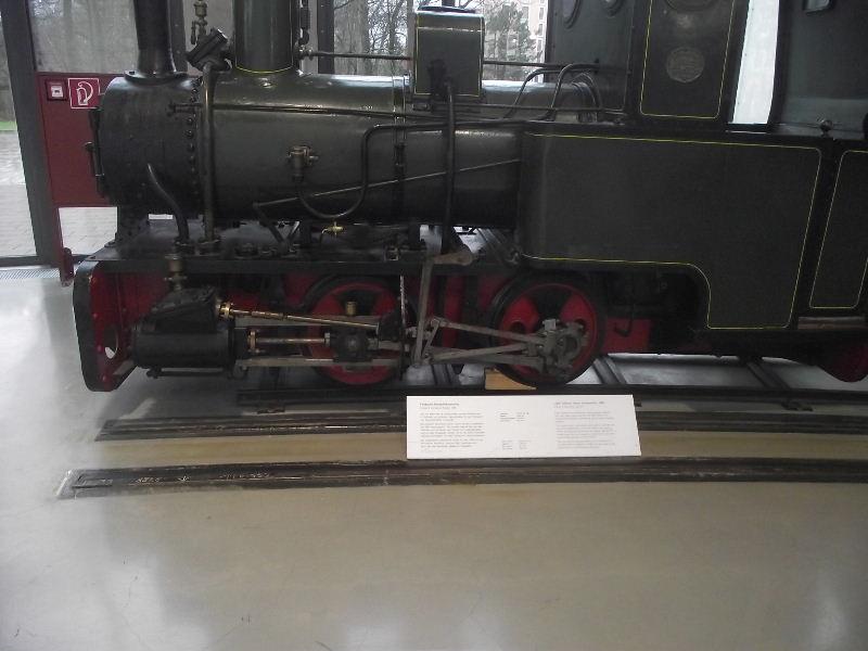 Feldbahn-Dampflokomotive Vzent156