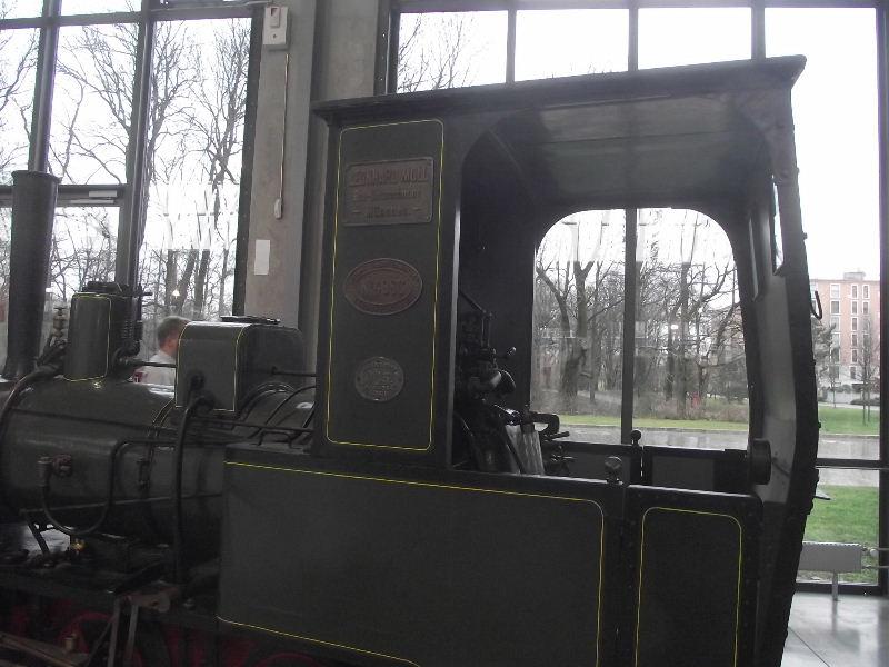 Feldbahn-Dampflokomotive Vzent159