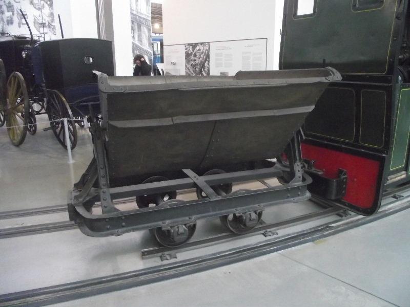 Feldbahn-Dampflokomotive Vzent163
