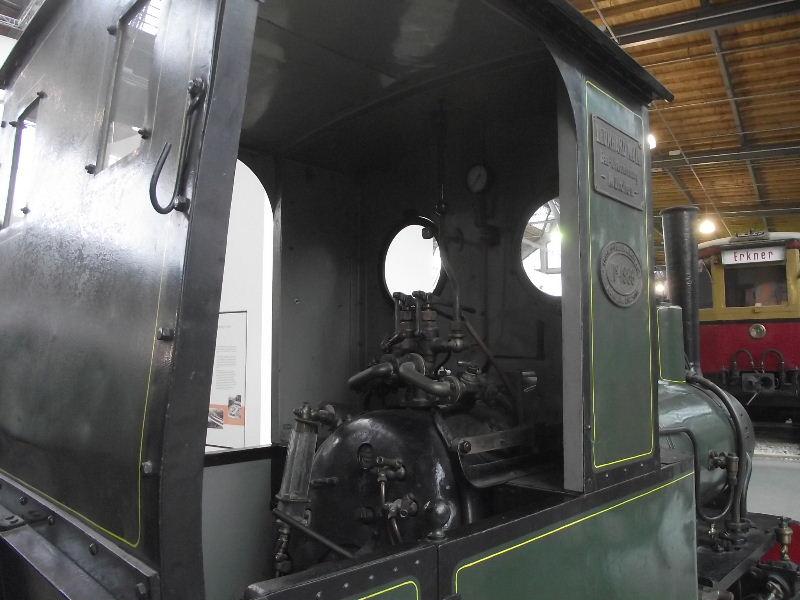 Feldbahn-Dampflokomotive Vzent165