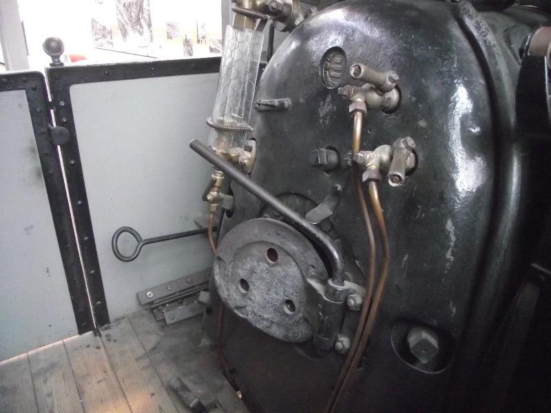 Feldbahn-Dampflokomotive Vzent166