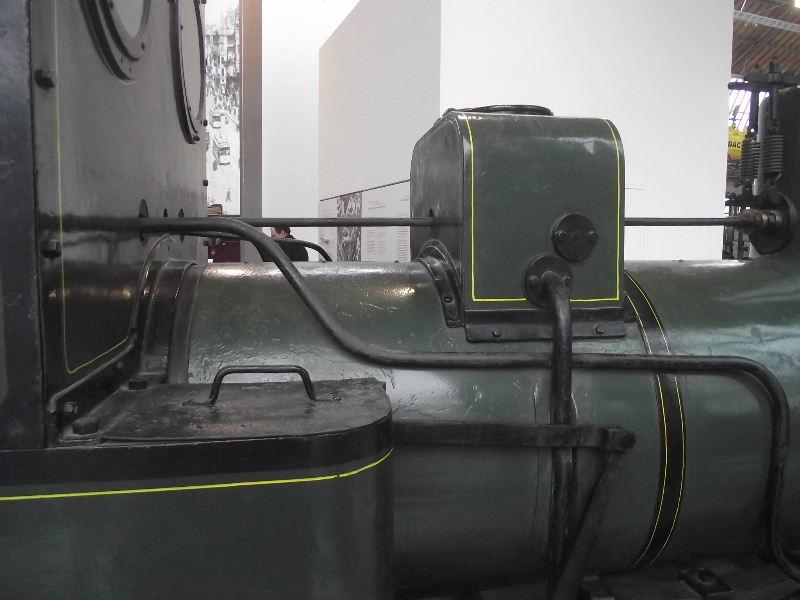 Feldbahn-Dampflokomotive Vzent168