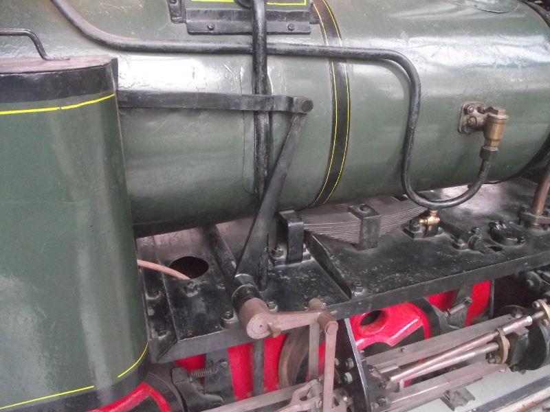 Feldbahn-Dampflokomotive Vzent169