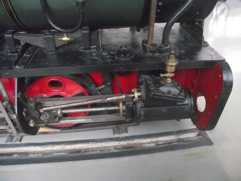 Feldbahn-Dampflokomotive Vzent172