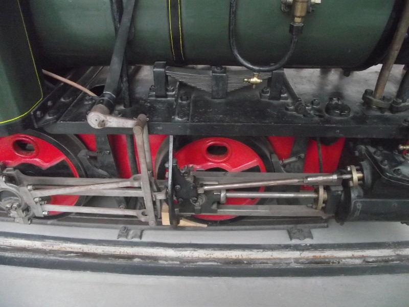 Feldbahn-Dampflokomotive Vzent173