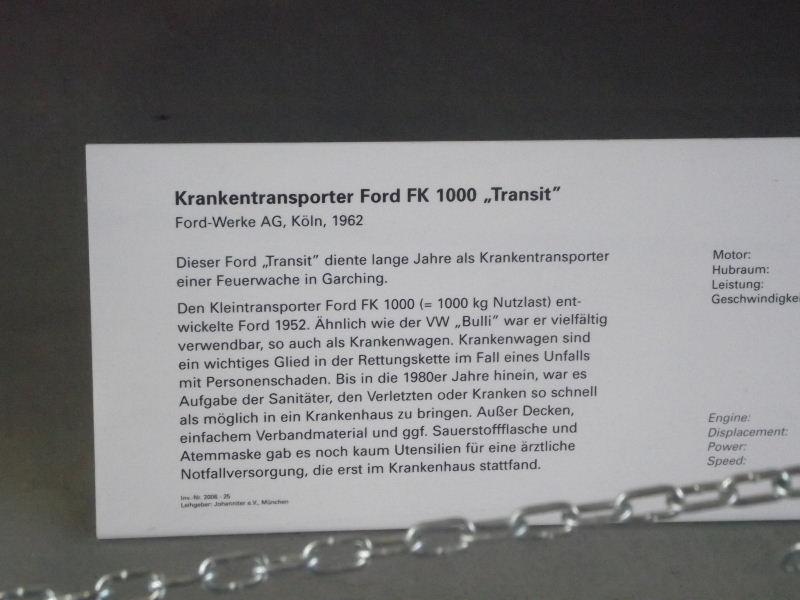 "Sanka FORD FK 1000 ""Transit"" Vzent228"