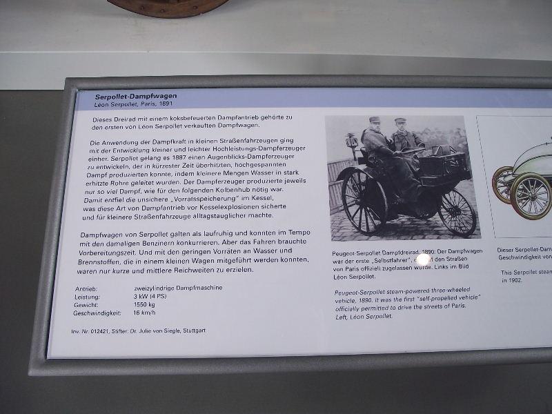 Serpollet-Dampfwagen 1891 Vzent413