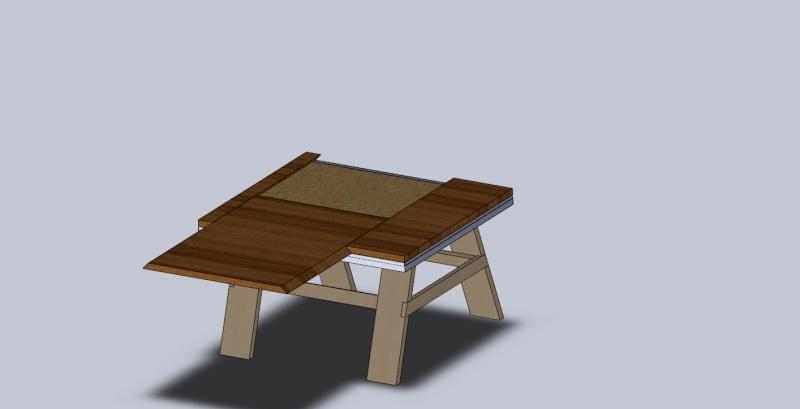 Table de sciage Assemb12