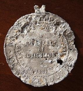 medaille en alu de Lourdes Medail18