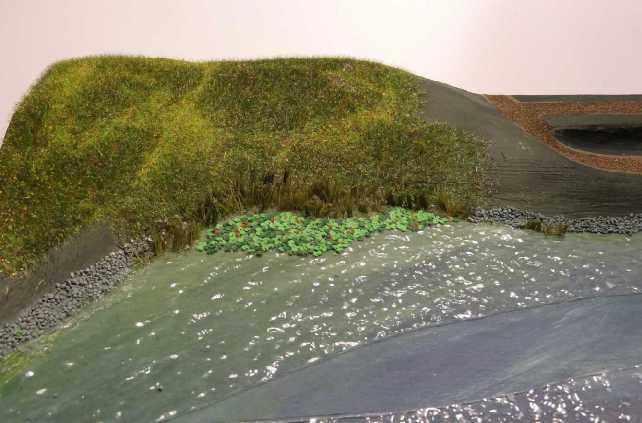 """Diorama """"Luitpold"""" von MB-Modellbau, 1:250 FERTIG 17-noc10"""