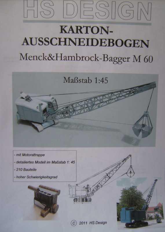 Menck-Bagger von HS-Design in 1:45 Bild6010
