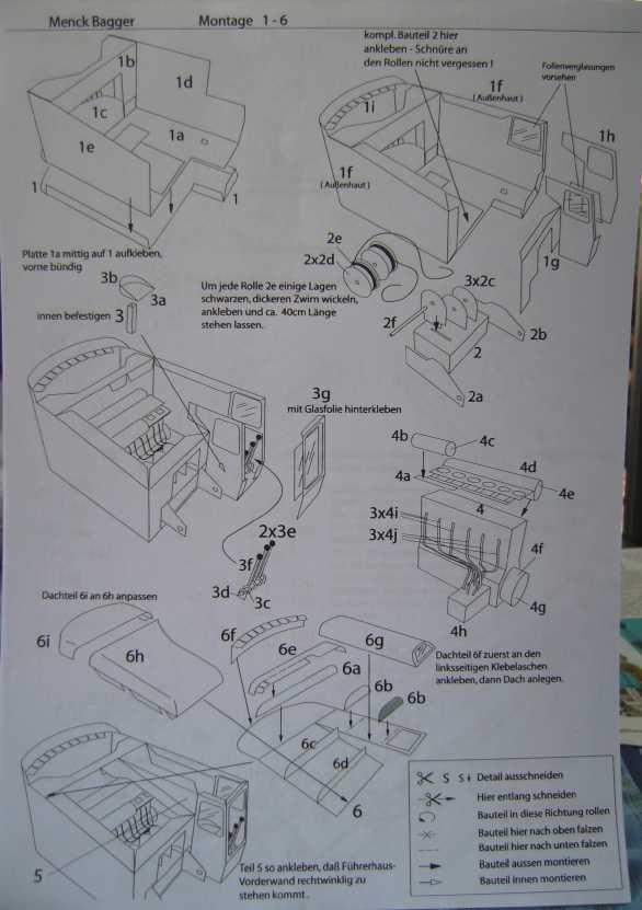 Menck-Bagger von HS-Design in 1:45 Bild6011