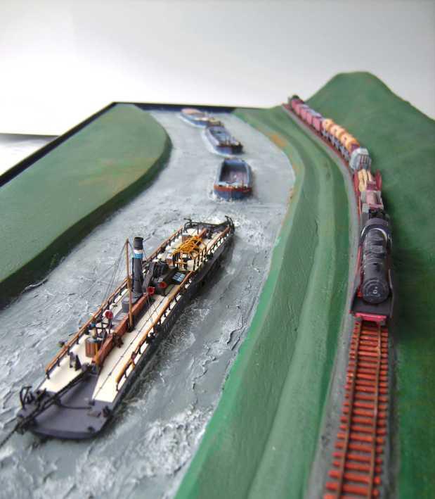 """Diorama """"Main-Kettenschlepper"""" von MB-Modellbau, 1:250 - Seite 3 Bild6034"""