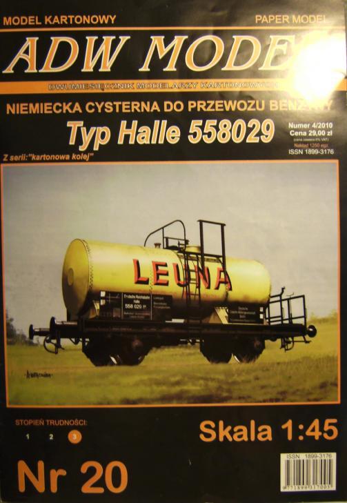 """Kesselwagen, Typ """"HALLE"""" von ADW, 1:45 Bild6826"""