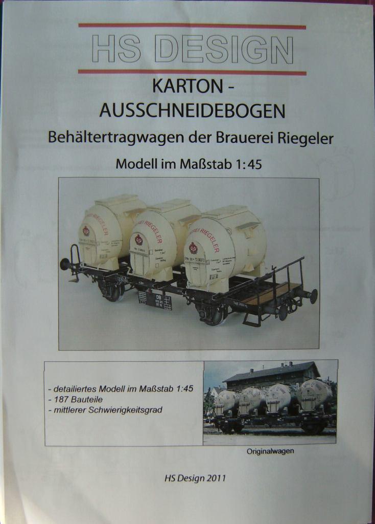 Behältertragwagen, 1:45, von HS-Design Bild6843