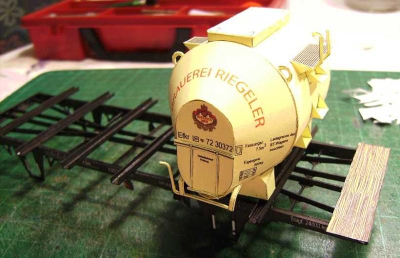 Behältertragwagen, 1:45 von HS-Design Bild6933