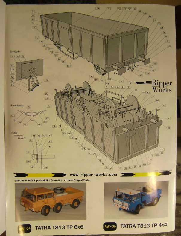 """Strassenroller mit Eisenbahnwagen, 1:32 von """"Ripper Works"""" Bild7033"""