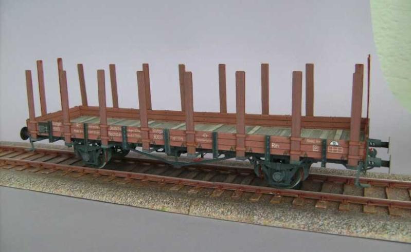 Rungenwagen der DRG von HS-Modellbau, 1:45 Bild7243